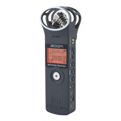 Zoom H1 MB Matte Black - Enregistreur stéréo