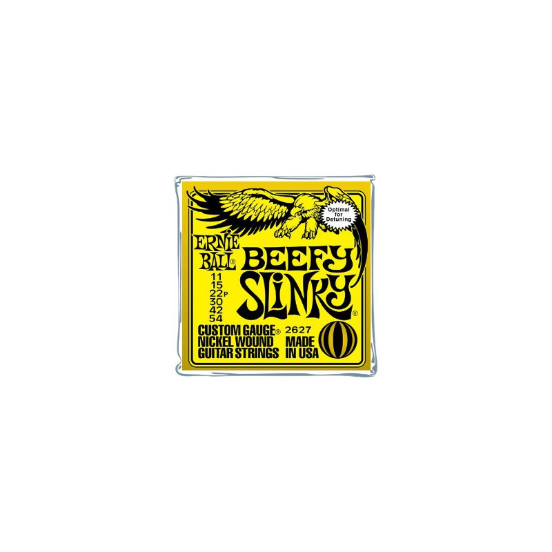 Ernie Ball Beefy Slinky® 11-54