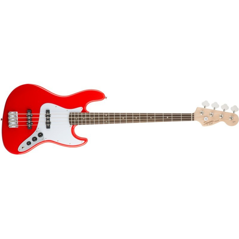 Squier Jazz Bass® Affinity Race Red