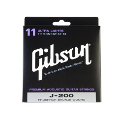 J-200UL Ultra Light 11-52 - Cordes Guitare acoustique