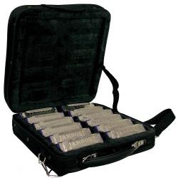 Jambone JHM-520 - 12 Harmonicas avec étui