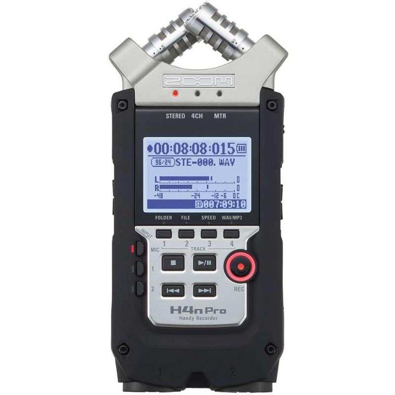 Zoom H4nPRO - Enregistreur 4 pistes portable