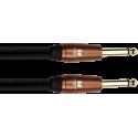 Cable Guitare acoustique - Jacks droits - 3,65m