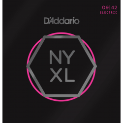 D'addario NY XL 09-42 Sup Light cordes guitare électrique