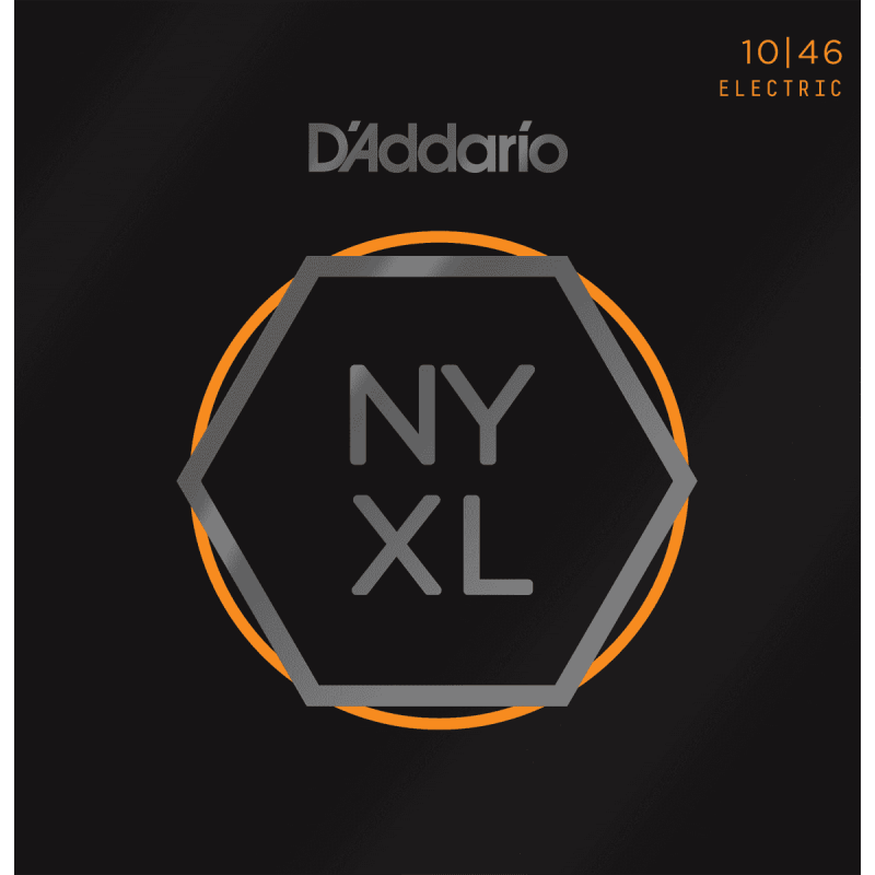 D'addario NY XL 10-46 Light cordes guitare électrique