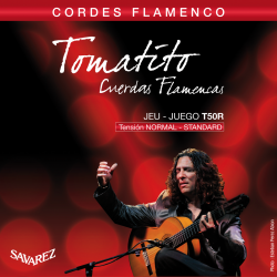 Tomatito T50R Corde Flamenco Tirant Normal