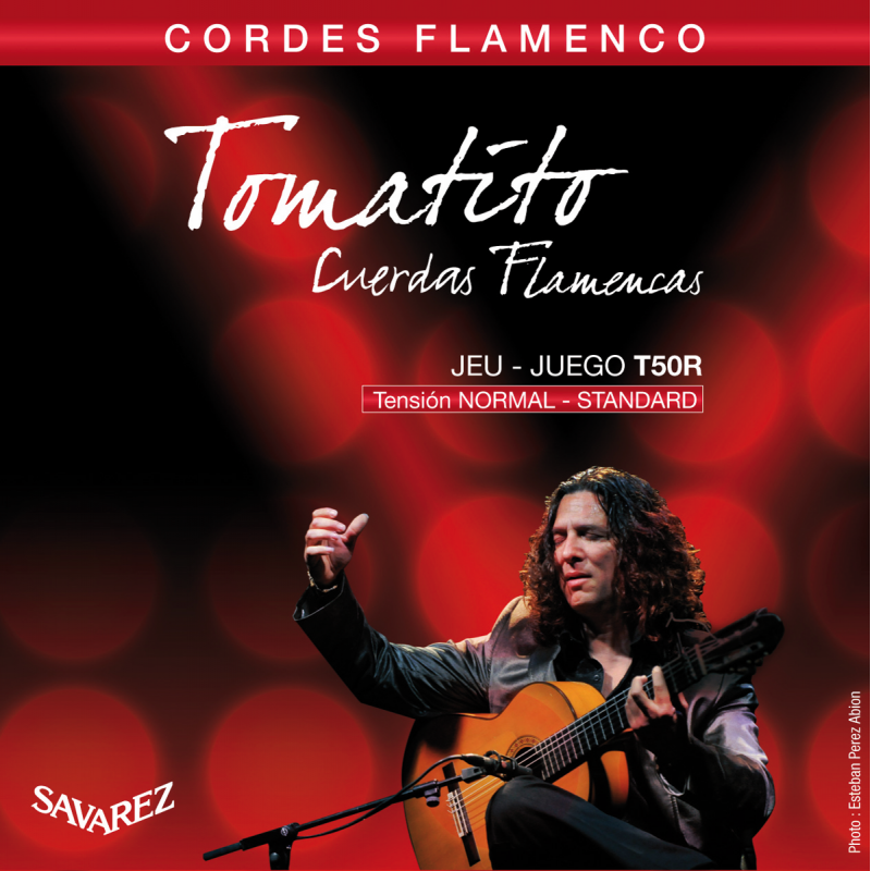 Savarez Tomatito T50R Corde Flamenco Tirant Normal