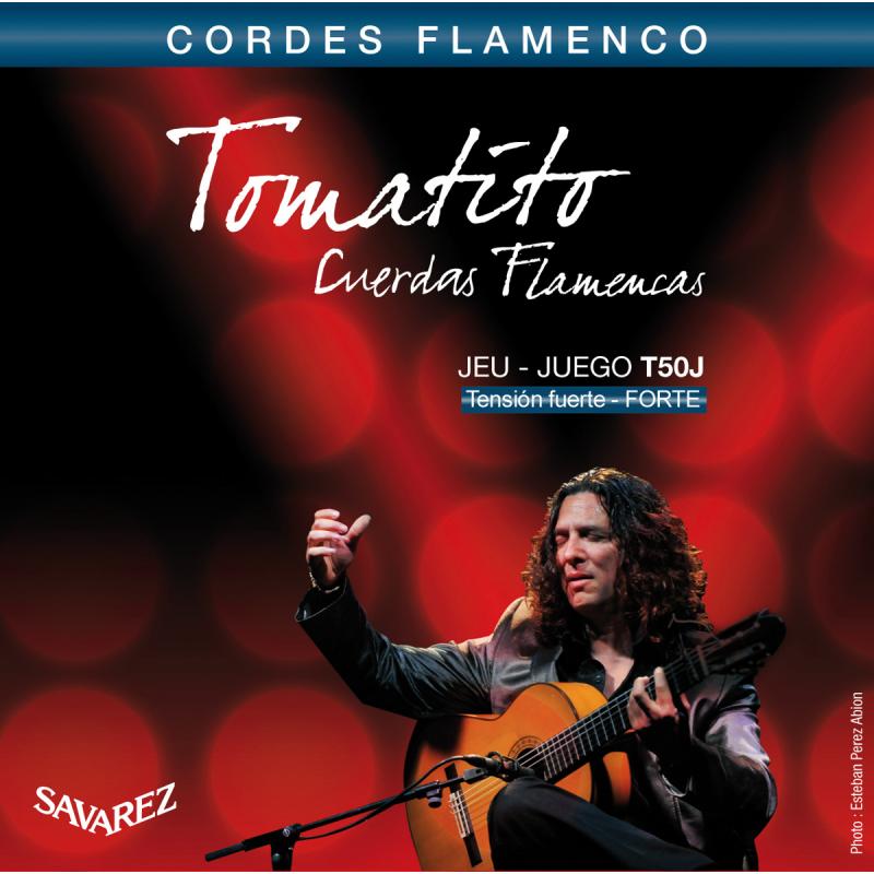 Savarez Tomatito T50J Corde Flamenco Tirant Fort