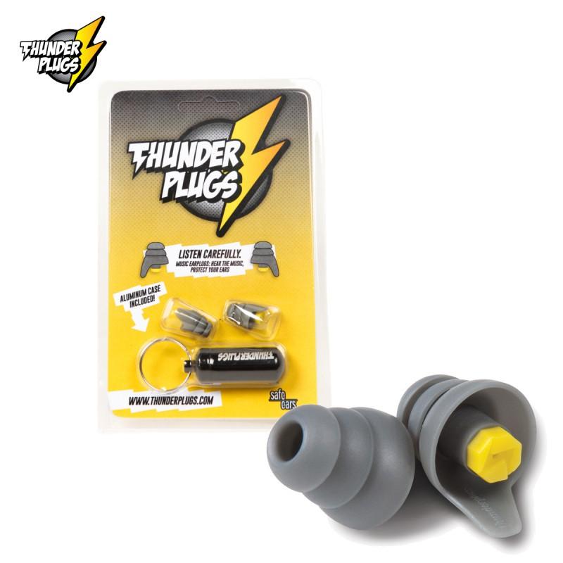 Thunderplugs TP-B1 Filtre Auditif + étui Aluminium