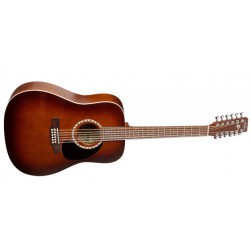 Art et Lutherie Dreadnought Antique Burst 12 Cordes