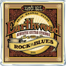 Ernie Ball Earthwood Rock&Blues 80/20 10-52