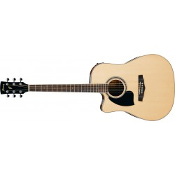 Ibanez PF15LECE-NT - Natural - Guitare Gaucher