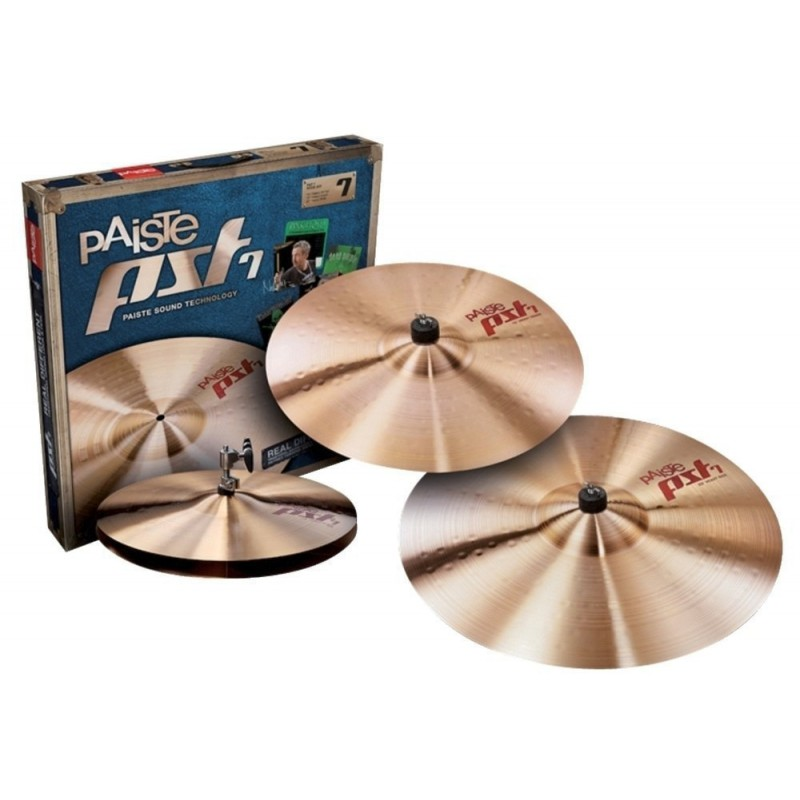 Paiste PST 7 - Pack de cymbale Medium