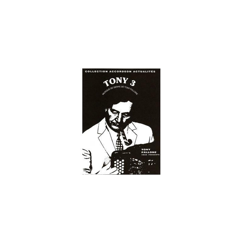 Edition Fallone Tony 3 - T.FALLONE - Partition Accordéon