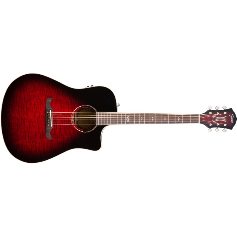 Fender T-Bucket™ 300CE Trans Cherry Burst