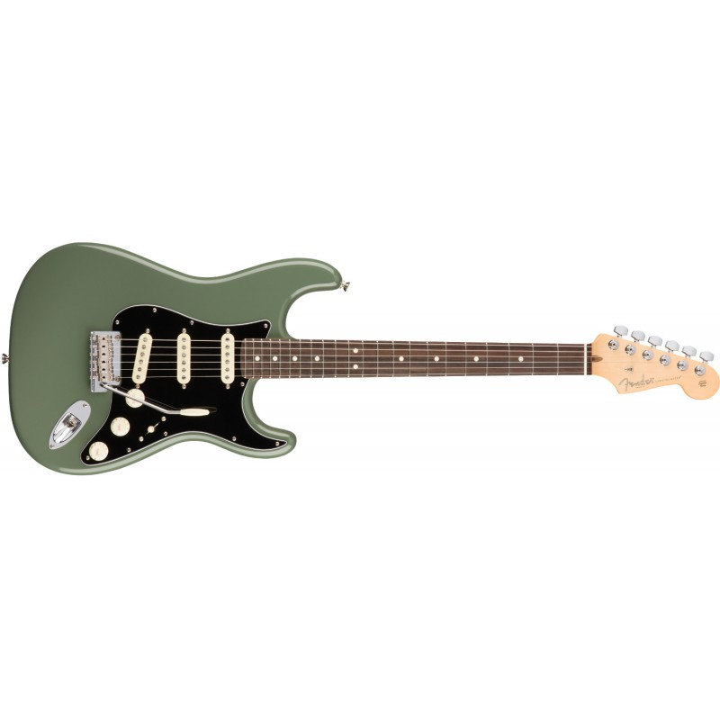 Fender Stratocaster® American Pro Rosewood Antique Olive