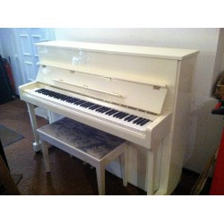 Piano Acoustique Blanc - Occasion