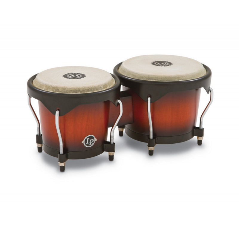 Latin Percussion LP601NY-VSB Bongos Série City
