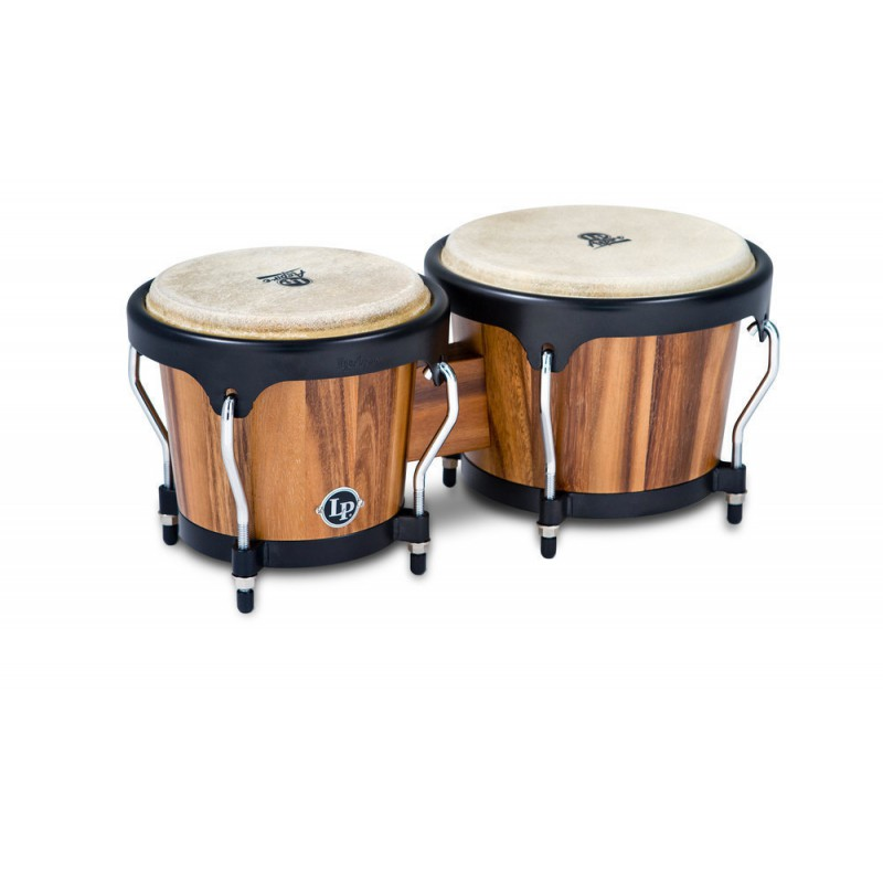 Latin Percussion LPA601-SW Bongos Aspire Noyer