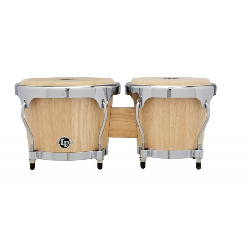 Latin Percussion LPH601-SNC Bongos Highline Satin Naturel