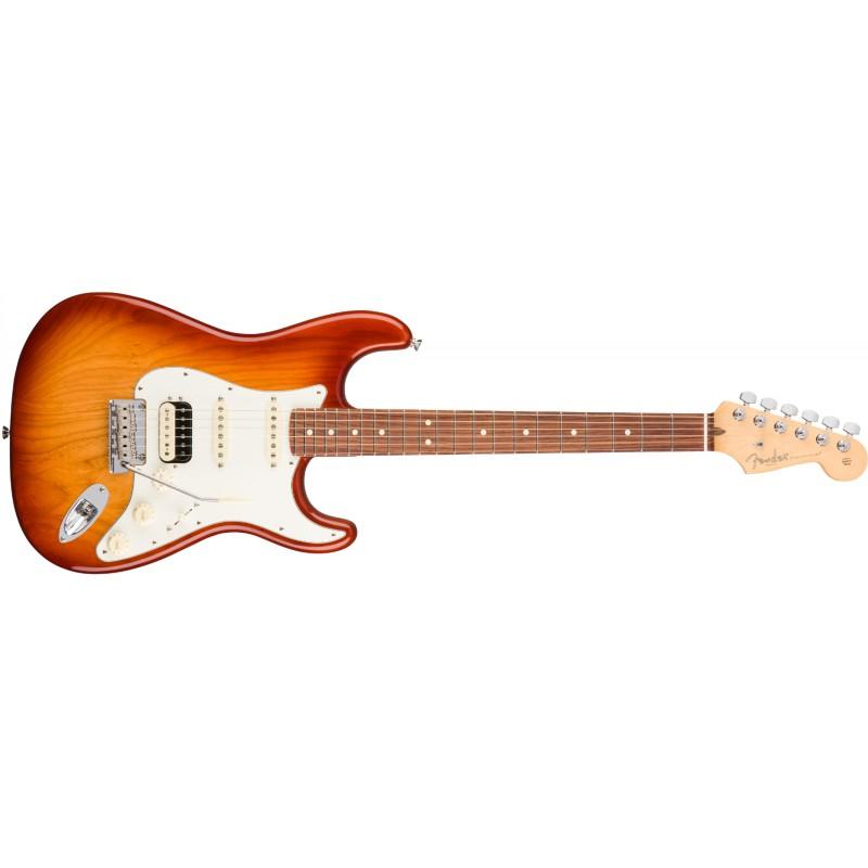 Stratocaster® American Pro HSS Shawbucker Sienna Sunburst