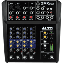 ZMX862 - Compact 6 canaux, 8 entrées