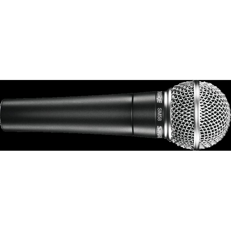 Shure SM58SE Micro Voix - Dynamique avec Inter Cardioïde