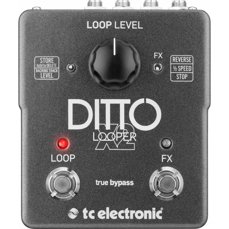 TC Electronic Ditto X2 Looper - Pédale Boucleur / Looper
