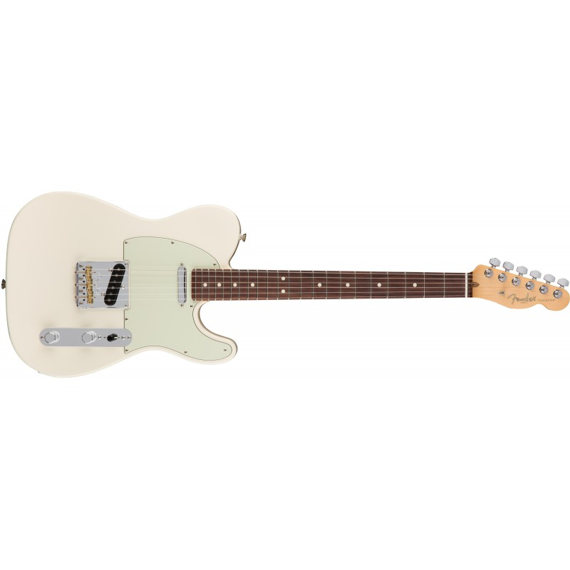 Fender Telecaster® American Professional Olympic White RW