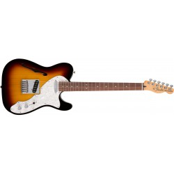 Fender Telecaster® Deluxe Tele® Thinline 3-Color Sunburst RW