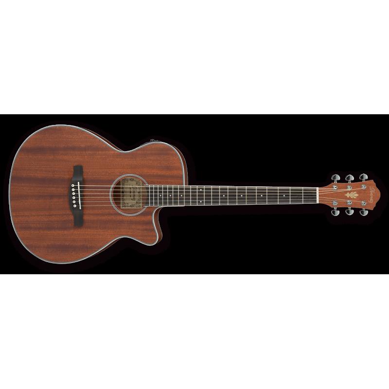 Ibanez AEG8EMH-OPN Open Pore Natural - Guitare électro-acoustique