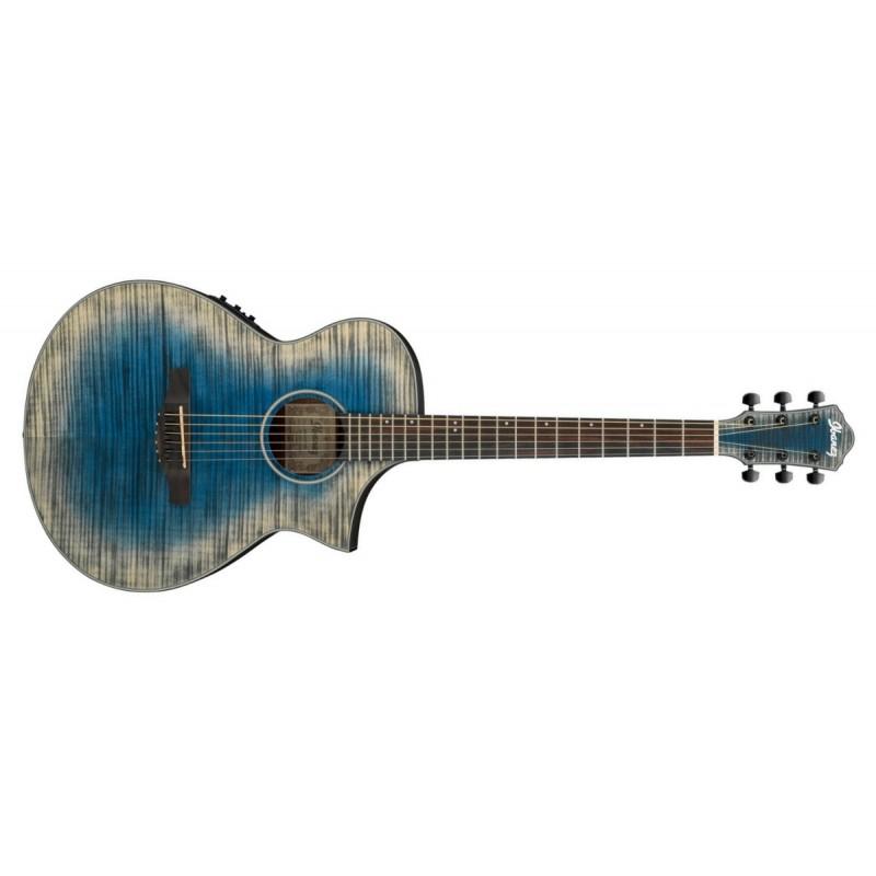 Ibanez AEWC32FM-GBL - Guitare électro-acoustique