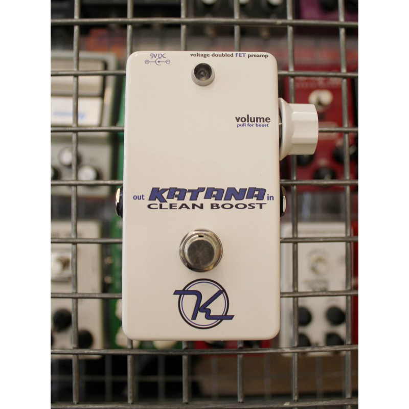 Robert Keeley Engineering Katana Clean Boost - Occasion