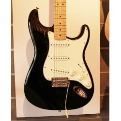 Fender Stratocaster Standard Mexique Black Maple - Occasion