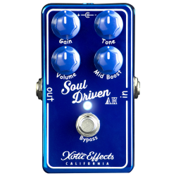 Xotic Effects Soul Driven AH Ltd - Pédale Overdrive