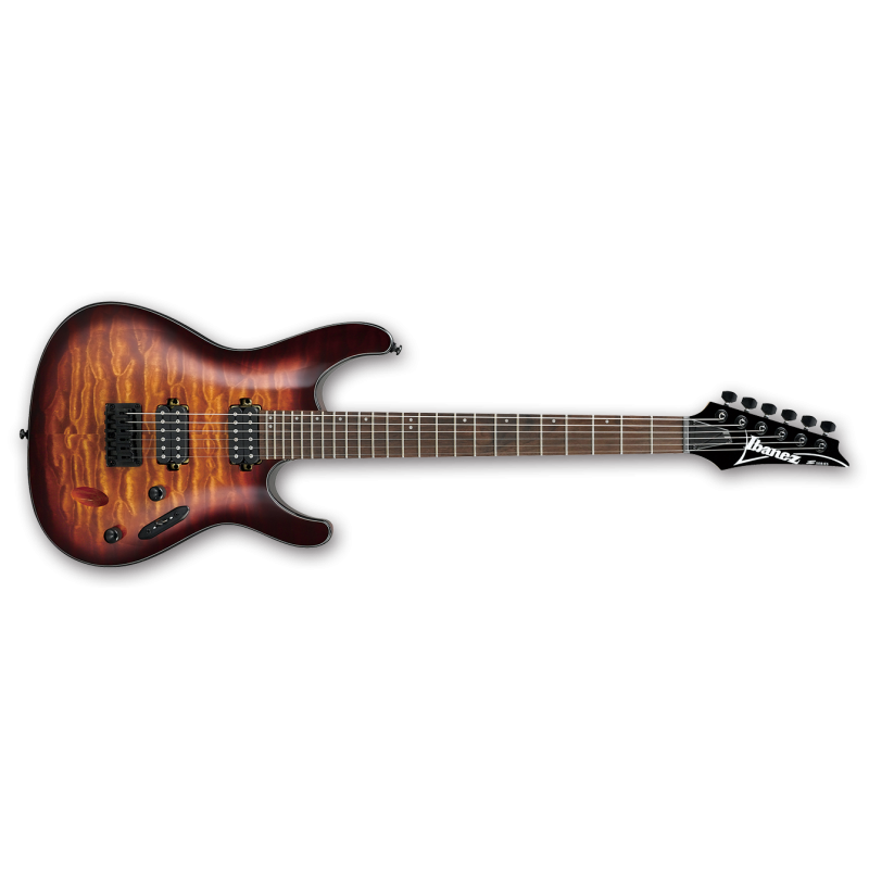 Ibanez S621QM-DEB - Dragon Eye Burst - Guitare électrique