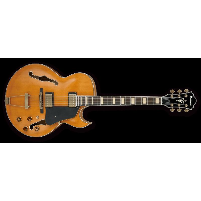 Ibanez AKJV90D-DAL Dark Amber Low Gloss - Guitare électrique