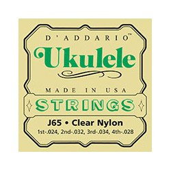 J65 Ukulele Clear Nylon