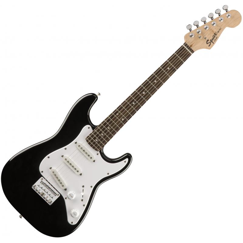 Squier Mini Strat V2 Black - Guitare Enfant