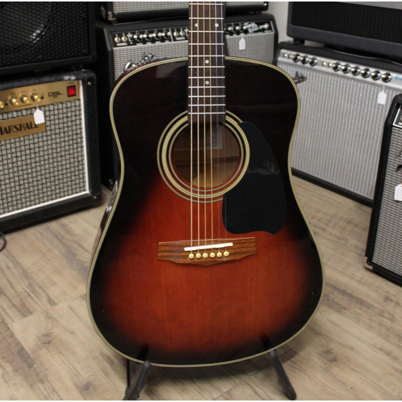 Ibanez pf20tv housse occasion for Housse guitare acoustique