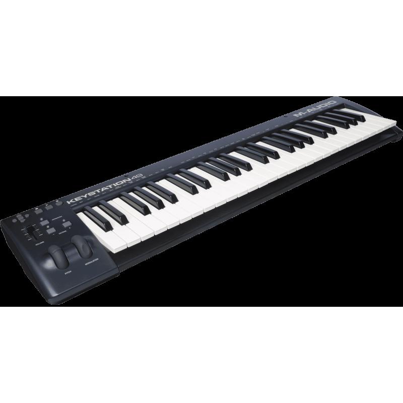 M-Audio KEYSTATION 49 II - USB MIDI 49 notes