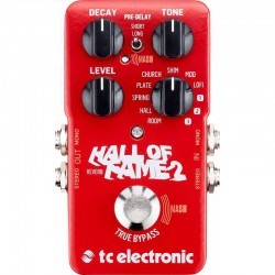 Hall of Fame 2 - Pédale Reverb