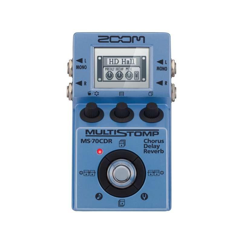 Zoom MS-70CDR - Pédale multi-effets compacte
