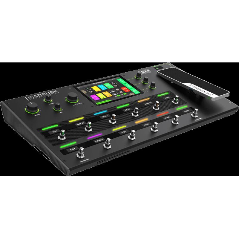 "Headrush Pedalboard 12 Switch + 1 Pédale + Ecran tactile 7"""