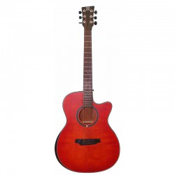 Oqan QGA-102 RDC - Guitare Acoustique Dreadnought