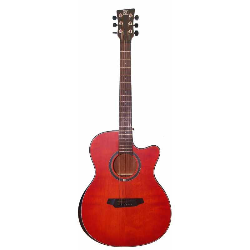 Oqan QGA-102 RDC - Guitare Acoustique Dreadnought