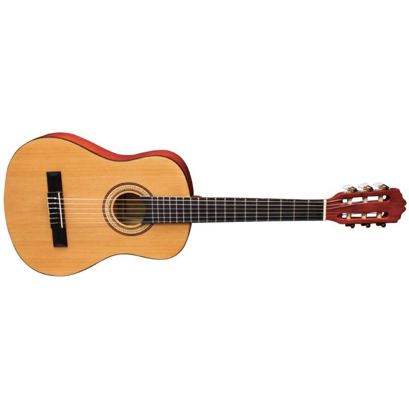 Almeria Classic 1/2 Miel Transparent - Guitare Classique
