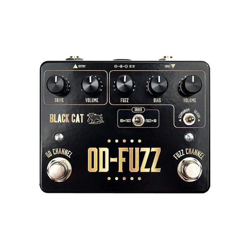 Black Cat Pédals OD-Fuzz - Pédale de Fuzz