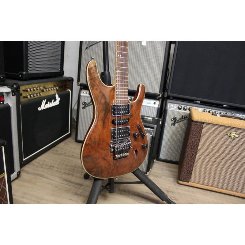Ibanez S970CW NT + Softcase - Guitare électrique d'occasion