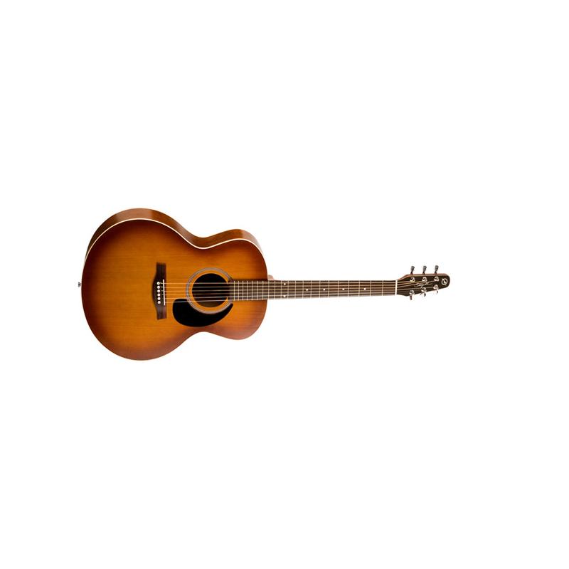Seagull Entourage rustic mini jumbo + housse - Guitare électro-acoustique